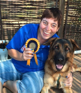 Nicky Lucka teaches TTouch for Puppies